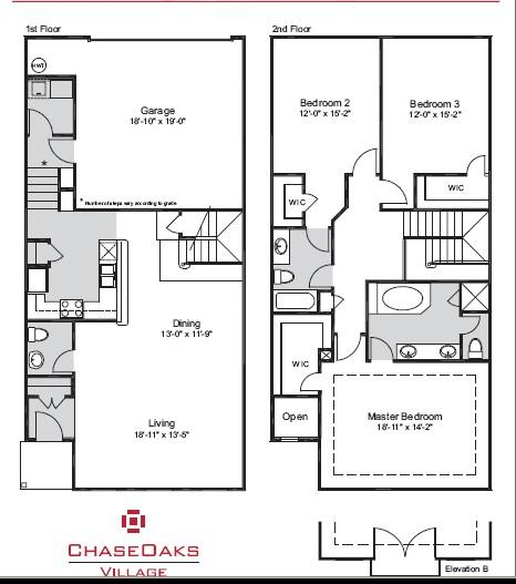 2,027 sq. ft. E floor plan