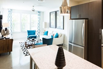 Living/Kitchen at Listing #300508