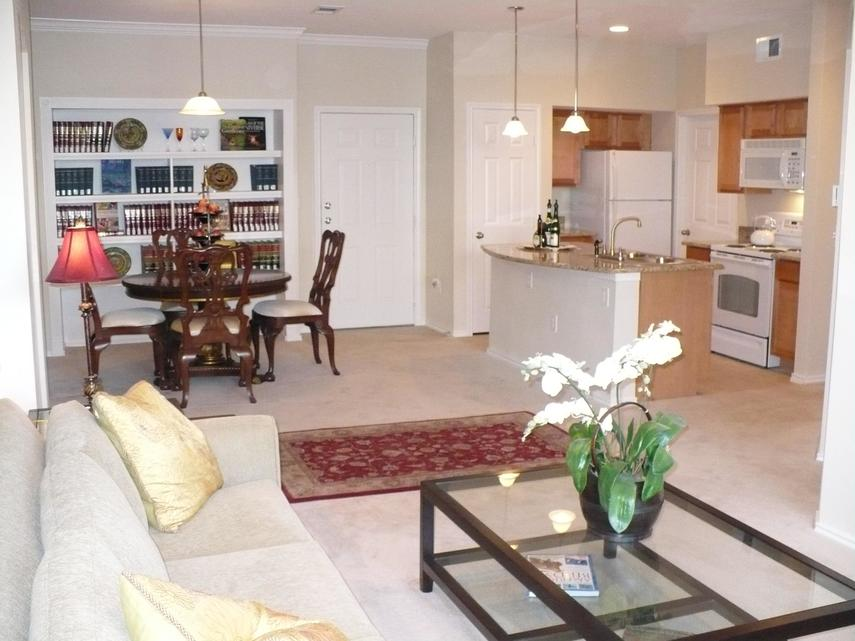 Living/Dining at Listing #144553