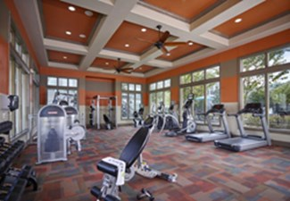 fitness center at Listing #145013