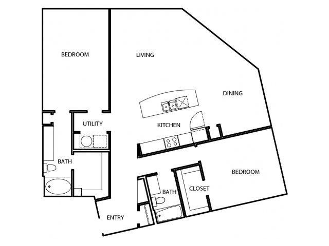 1,533 sq. ft. P5 floor plan