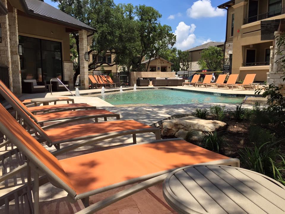 Pool at Listing #267862