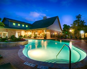 Pool at Listing #144478