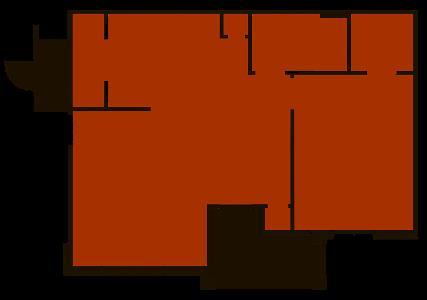 800 sq. ft. Pecan floor plan