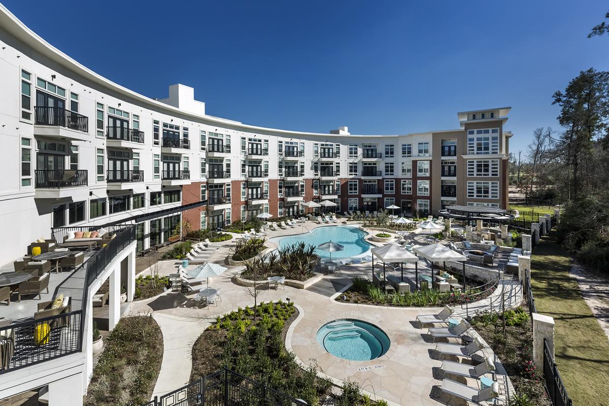 Belvedere at Springwoods Village Apartments Spring TX