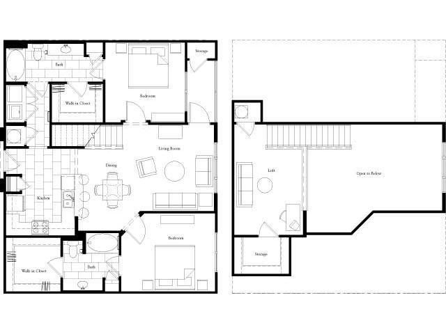 1,331 sq. ft. floor plan