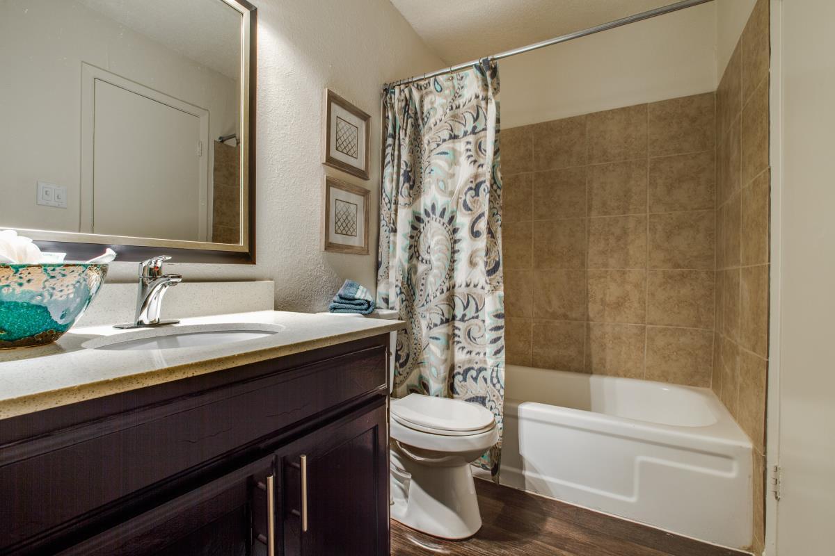 Bathroom at Listing #136874