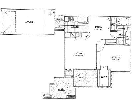 765 sq. ft. B1/60% floor plan