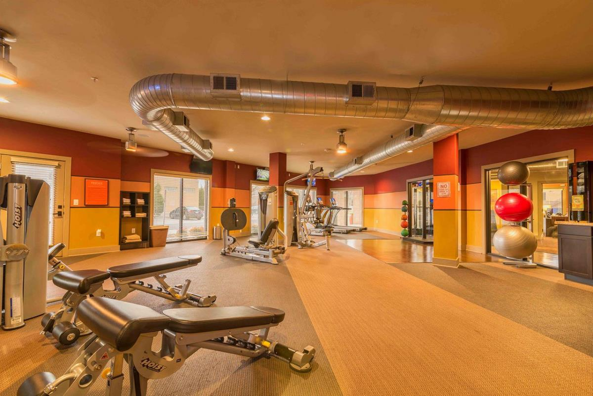 Fitness Center at Listing #233358