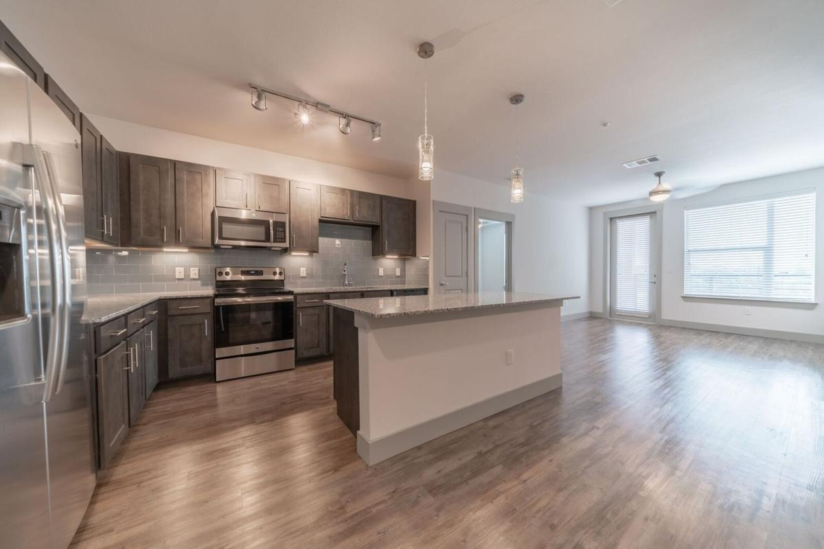 Living/Kitchen at Listing #302285