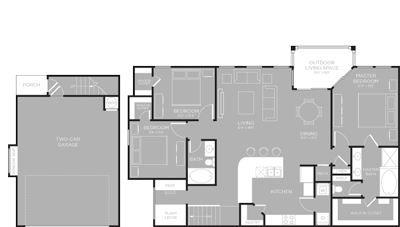 1,579 sq. ft. Travis floor plan