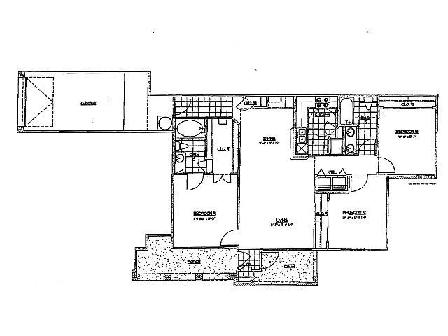 1,234 sq. ft. G 60 floor plan