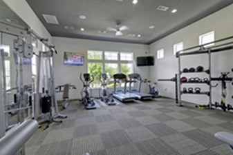 Fitness Center at Listing #145764