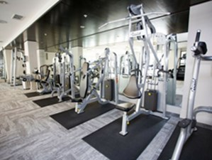 fitness center at Listing #146190
