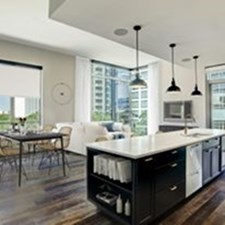 Living/Kitchen at Listing #311059