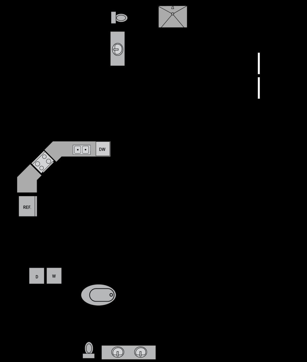 1,404 sq. ft. B7 floor plan