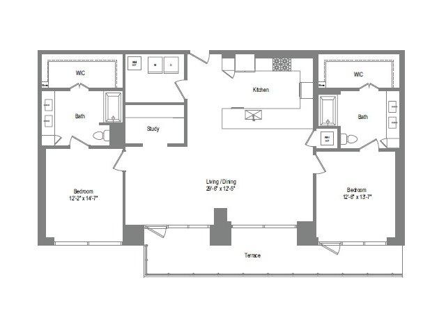 1,682 sq. ft. B10 floor plan