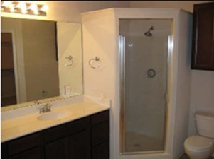 Bathroom at Listing #145155