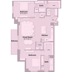 1,676 sq. ft. E2 floor plan