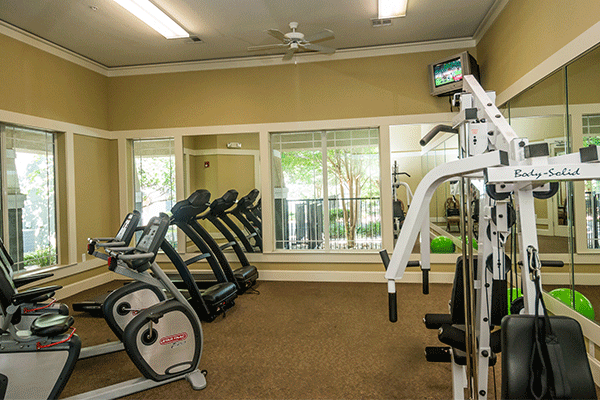 Fitness Center at Listing #144232