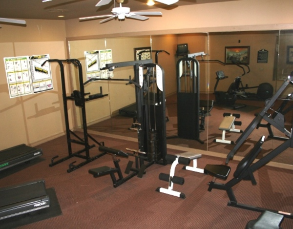fitness center at Listing #138053