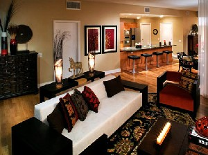 Living Room at Listing #146631