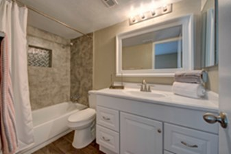 Bathroom at Listing #136051
