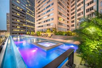Pool at Listing #144657