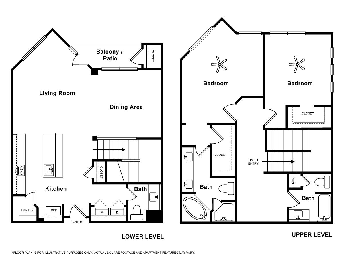 1,614 sq. ft. Sorrento floor plan