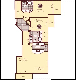 1,712 sq. ft. B5 floor plan