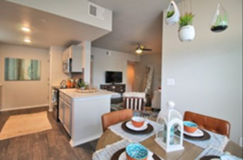 Dining/Kitchen at Listing #144768