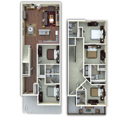 2,363 sq. ft. Rutherford floor plan