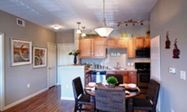 Dining/Kitchen at Listing #147488