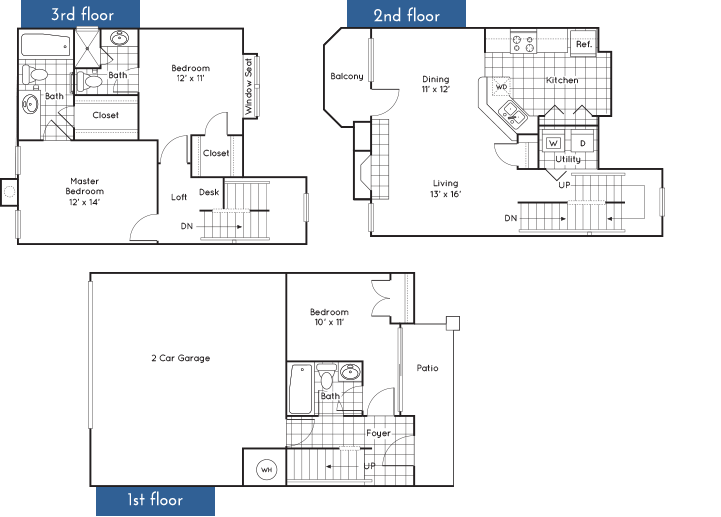 1,486 sq. ft. to 1,506 sq. ft. floor plan