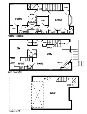 1,436 sq. ft. Illara floor plan