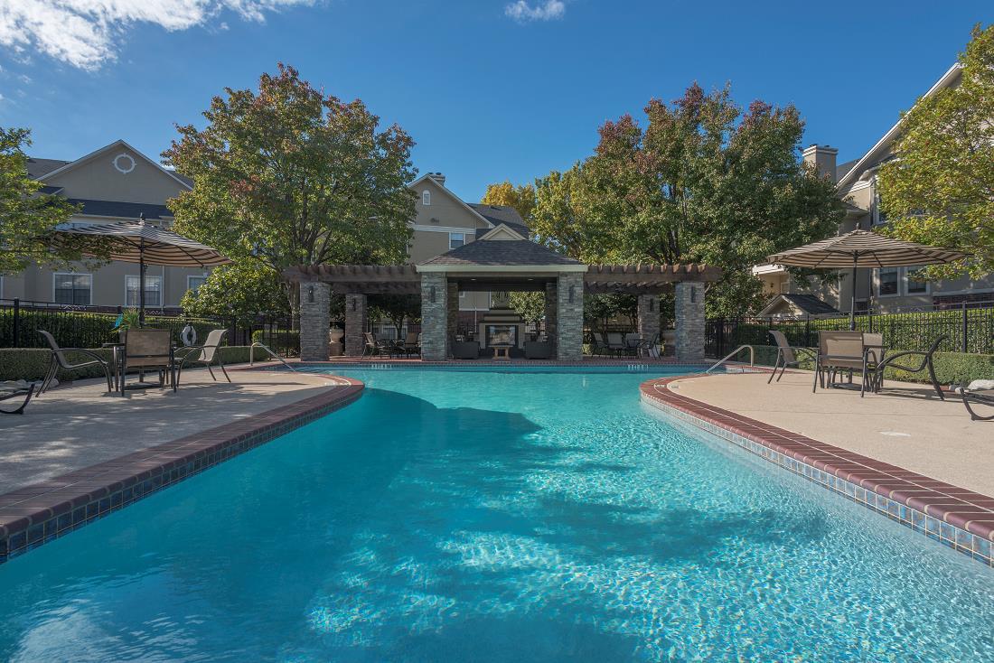 Pool at Listing #137642