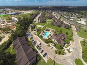 Aerial View at Listing #140112