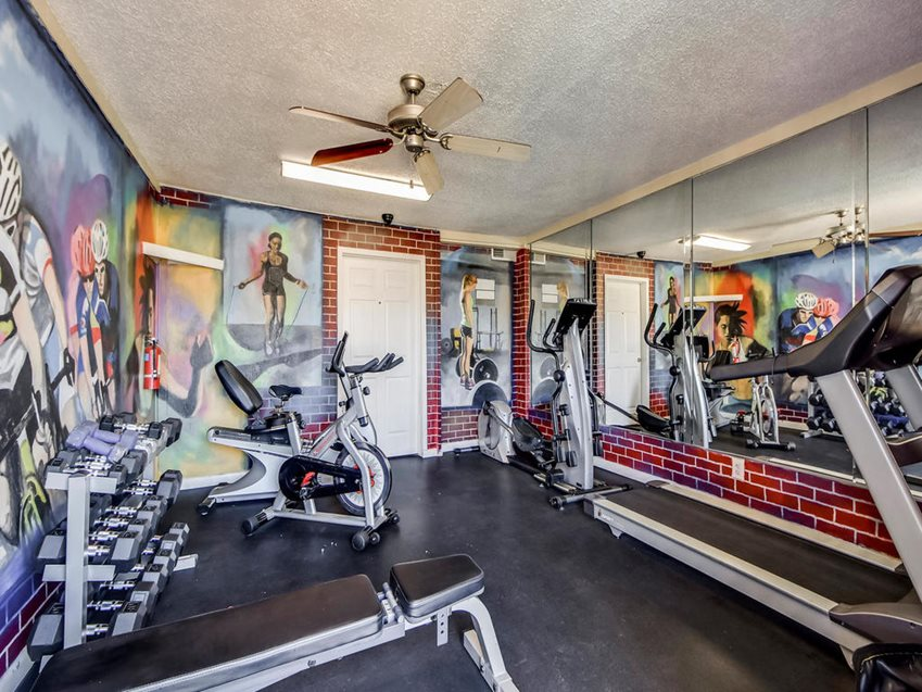 Fitness Center at Listing #144233