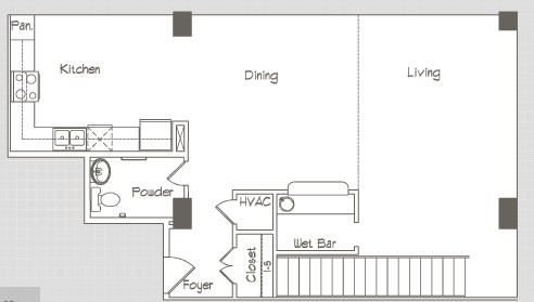 1,457 sq. ft. P5 floor plan