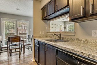 Dining/Kitchen at Listing #141385
