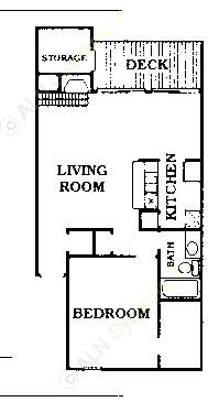 847 sq. ft. C1/CONDO floor plan
