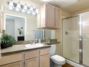 Bathroom at Listing #140863