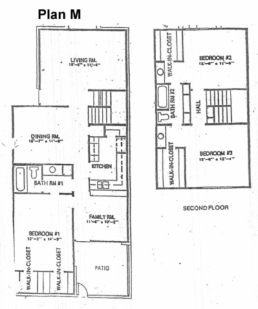 1,556 sq. ft. M floor plan