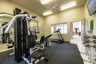 Fitness Center at Listing #140719