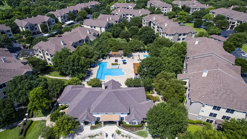 Aerial View at Listing #140650