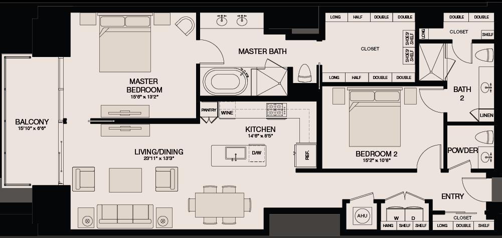1,472 sq. ft. floor plan