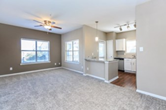 Living/Kitchen at Listing #140733