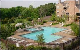 Pool Area at Listing #138007
