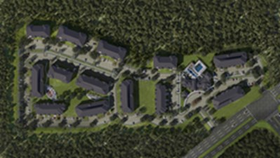 Aerial View at Listing #277139