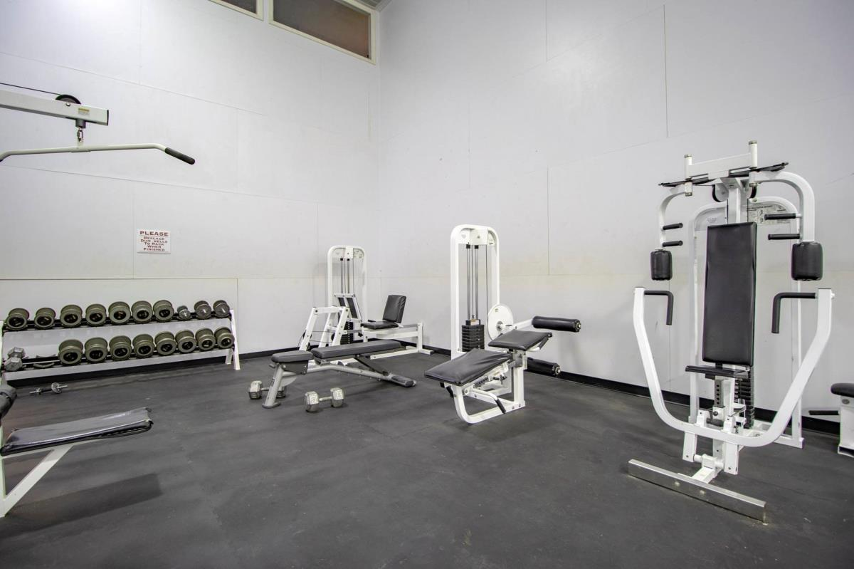 Fitness Center at Listing #217360